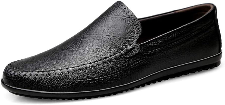 Jincosua Mens Large Größe Loafers weiche Sohle Nicht Slip lässig Breath Slip auf Fahr Schuhe (Farbe   Schwarz, Größe   EU 39)  | Viele Sorten