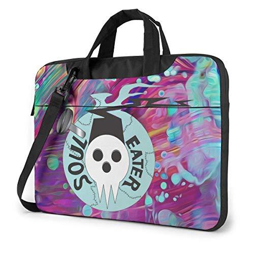 15.6″Lightweight Laptop Notebook Shoulder Backpack Bag Eater Waterproof PC Briefcase Messenger with Strap