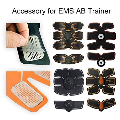 ANLAN Abs Stimulator Gel Pads, 30 PCS Replacement Gel Sheets for EMS Muscle Trainer Abdominal Toning Belt Accessories(2pcs/Packs)