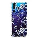 Funda compatible con Huawei P30 Pro, funda para teléfono móvil Huawei P30 Pro, transparente, silicona suave, para Huawei P30 Pro Cell Phone 8 M