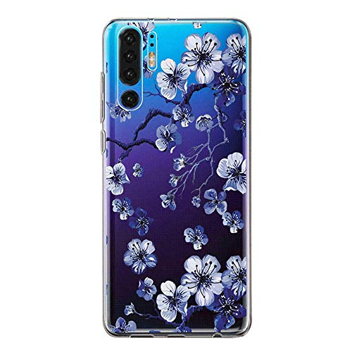 Hülle Kompatibel mit Huawei P30 Pro Hülle Cover Huawei P30 Pro Handyhülle Transparent Weich Silikon Schutzhülle für Huawei P30 Pro Cell Phone (8)