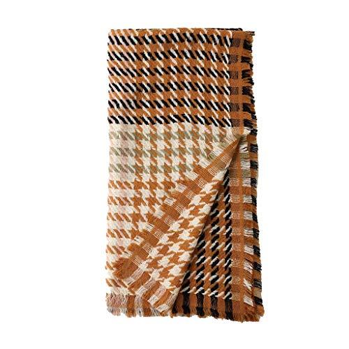 SUFLANG grote dames sjaal klassieke Houndstooth mode sjaal vierkant Multi-gebruik zachte sjaals winter koud weer warme vrouwen sjaal sjaals BRON