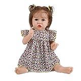 HDBD muñecas 58cm con Aspecto Realista Realista bebé Silicona recién Nacido Cuidado fácil Juguete Lavable