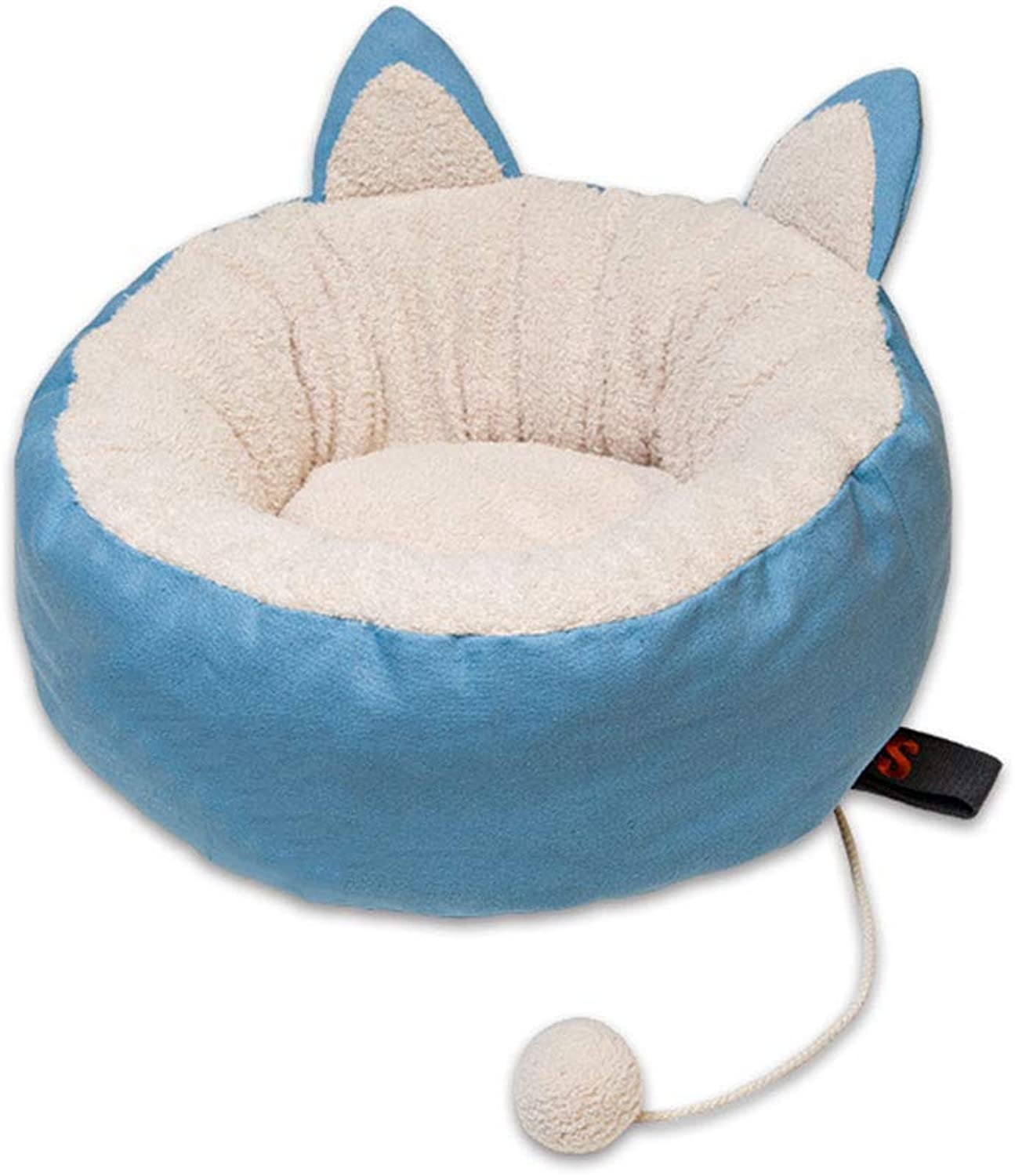 Desti Flakes Pet Bed Donuts Cat Litter Winter Kennel Supplies Small (Size   Large)