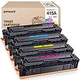 ZIPRINT Tóner compatible HP 415A para HP MFP M479fdw M479fdn M454dw M454dn M454 (NO CHIP) W2030A W2031A W2032A W2033A