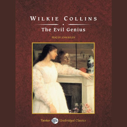 The Evil Genius  audiobook cover art