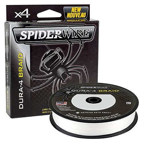 Spiderwire dura-4 FLECHTLEINE 300m lichtdurchlässig 26lb/11.8kg 0.14mm