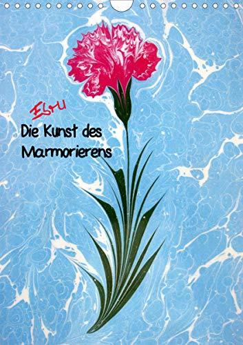 Ebru - Marmorieren auf Wasser (Wandkalender 2021 DIN A4 hoch)