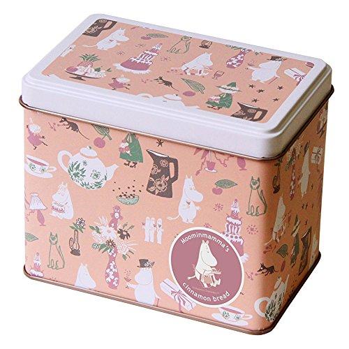 ムーミン Moomin|ムーミンママのシナモンブレッド パーティー缶 ビスケット