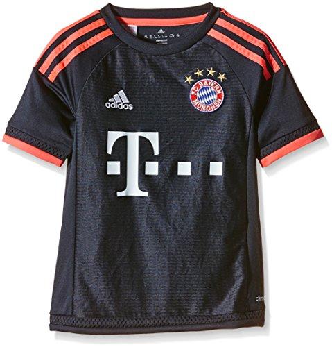 adidas Jungen Fußballtrikot FC Bayern München Uefa Champions League Replica, blau (Night Navy/Flash Red), 15-16 Jahre (176cm)
