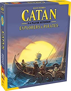 Catan Studios Catan Explorers and Pirates 5-6 Player Extension Strategy Game