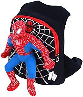 3D spiderman school bag backpack kids children cartoon school bags backpacks
