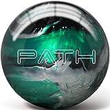 Pyramid Path Bowling Ball (Emerald/Black/Silver, 14 LB)