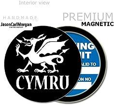 JasonCarlMorgan JCM Cymru Mot Licence Vignette permis Holders Noir