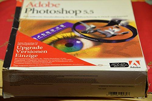 Adobe Photoshop 5.5 MAC Upgrade von 5.0