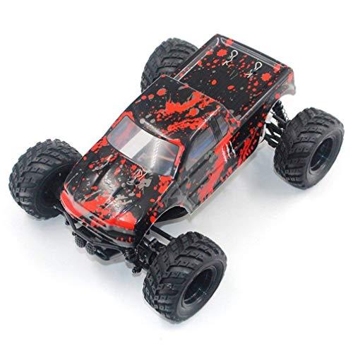 WGFGXQ Coche de Control Remoto de Deriva RC de Alta Velocidad de 30 km/h 1:18 Profesional 4WD 2,4G tracción en Las Cuatro Ruedas Big Foot Todoterreno Regalo de Escalada para niños