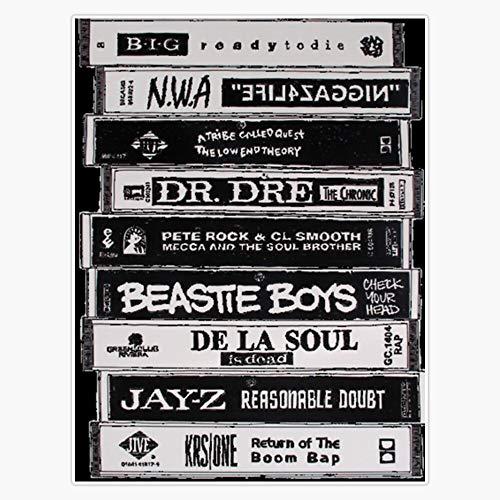 EMC Graphics Hip Hop Tapes Vinyl Waterproof Sticker Decal Car Laptop Wall Window Bumper Sticker 5'
