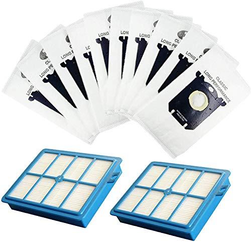 YAJIWU Piezas de repuesto H12 filtro y bolsa de filtro de polvo para Philips Fit para Electrolux Robot Aspiradora Accesorios (color: HXL2024) (color: Hxl005)