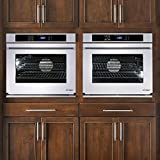 Dacor Renaissance 30' White Glass Electric Wall Oven