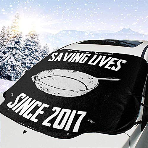 MaMartha Car Windshield Snow Cover Ja,wir schwenken PlayerUnbekanntes Schlachtfeld Auto Windschutzscheibe Schneedecke,Eisentfernung Sonnenschutz,Fit für Universalautos,147x118cm