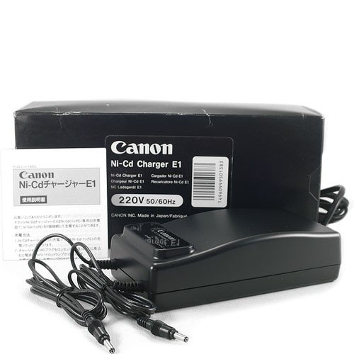 Canon oplader Ni-Cd Booster E-1