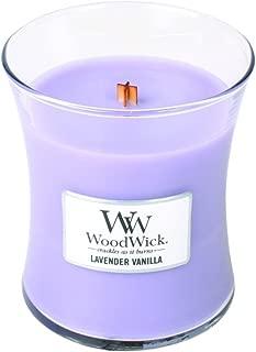 Lavender Vanilla - Woodwick 9.7 oz Medium Jar Candle Burns 60 Hours