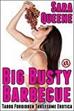 Big Busty Barbecue: Taboo Forbidden Threesome Erotica (Kaylie's Katering Book 2) (English Edition)