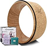 Yoga Wheel - Strongest Most Comfortable Yoga Prop Wheel for Yoga Poses, Perfect Roller for Stretching, Increasing Flexibility and Improving Backbends…