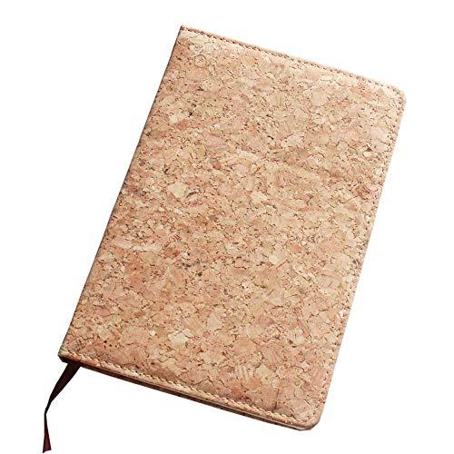 Boshiho Tagebuch mit Korkeinband, umweltfreundlich, veganes Geschenk 8.3 x 5.9 x 0.6 inch Farbe 3