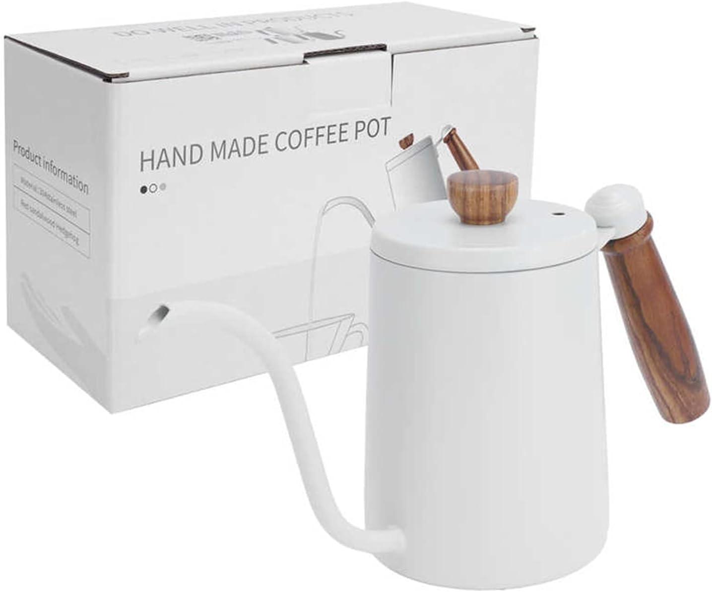 Coffee Filters 600ML Coffee Pot 304 Stainless Steel Fingerprint