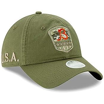 New Era Women s Olive Chicago Bears B 2019 Salute to Service Sideline 9TWENTY Adjustable Hat