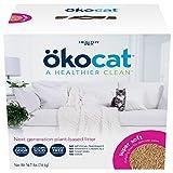 ökocat Super-Soft Natural Wood Clumping Cat Litter with Odor Control,...