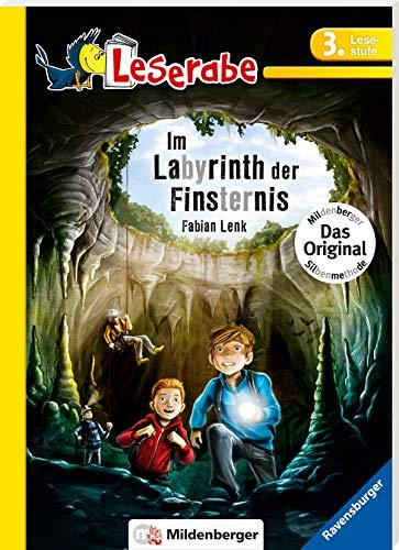 Im Labyrinth der Finsternis - Leserabe 3. Klasse - Erstlesebuch für Kinder ab 8 Jahren: Leichter lesen mit der Silbenmethode (Leserabe mit Mildenberger Silbenmethode)