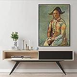 Abaabul Pablo Picasso - Lienzo para pared, diseño de payaso sentado en España