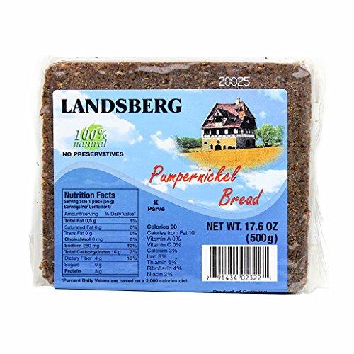 German Pumpernickel Bread by Landsberg (17.6 ounce)