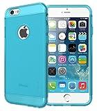 Apple iPhone 6 Funda, TUDIA Ultra Delgado Lite TPU Caso de Parachoques de protección Funda Carcasas para Apple iPhone 6 (Verde Azulado)