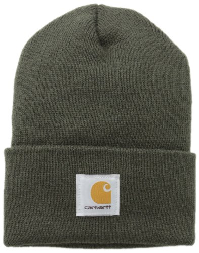Carhartt Men's Acrylic Watch Beanie A18, Dark Green, One Size