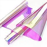 Zaione PVC transparente Folie holografisch transparente