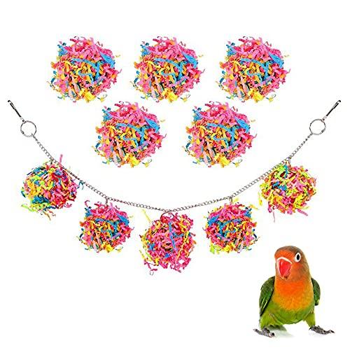 Papegaaienbeet Toy, Vogel kauwspeelgoed, Vogelpapegaai speelgoed, Huisdier Swing Toy, Vogelspeelgoed voor vogels, Kleine…