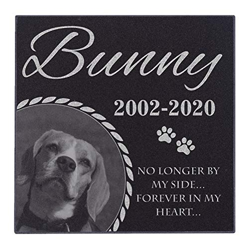 Personalized Dog Memorial With Photo
