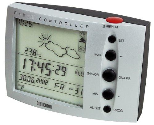 Dorling Kindersley Multimedia - DK Eurochron 119/0100 Stazione meteorologica Digitale con radiosveglia