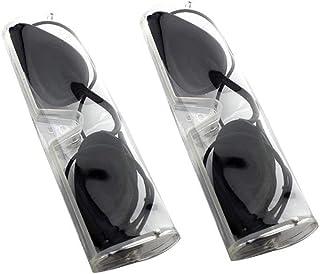 SUPVOX 2 Sets Lunettes Bronzage Lunettes Solarium Lunettes Protection UV pour les Patients en Photothérapie IPL Infrarouge...