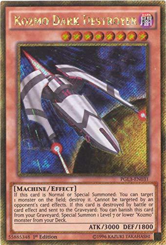 YU-GI-OH! - Kozmo Dark Destroyer (PGL3-EN031) - Premium Gold: Infinite Gold - 1st Edition - Gold Secret Rare