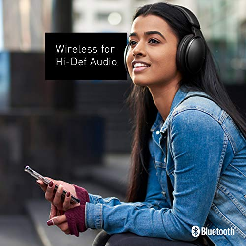 Panasonic Noise Cancelling Over The Ear Headpho   nes with Wireless Bluetooth, Alexa Voice Control