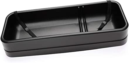 Under Seat Storage Box Compatible With 09-14 Ford F-150 SuperCrew Cab | Unpainted PP by IKON MOTORSPORTS