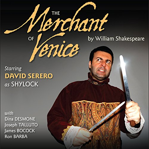 The Merchant of Venice - Adapted in a Sephardi Style by David Serero audiobook cover art