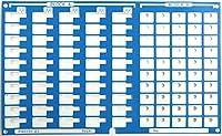 ユニバーサル・コネクタエクステンダPX0101用ピン名シート PX0101-A1