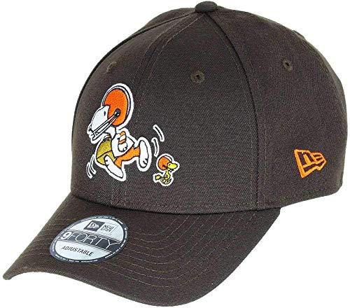 New Era 940 Peanuts Clebro NFL Cap, Unisex, Erwachsene, Dark Brown, Einheitsgröße