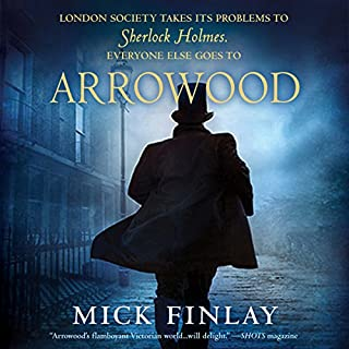 Arrowood audiobook cover art