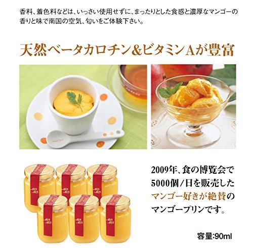 果物屋さんのマンゴープリン6個セット(消費税込み)